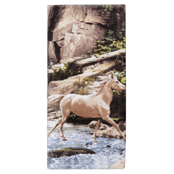 Pennock Horse 100% Cotton Bath Towel by Loon Peak